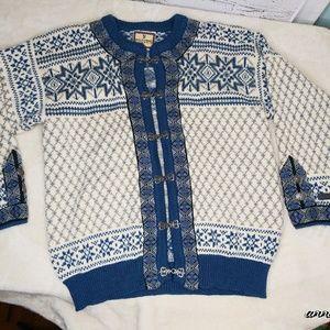 Dale of Norway/ Cardigan Sweater Coat/ Large